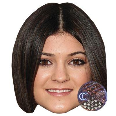 Celebrity Cutouts Kylie Jenner Maske aus Karton