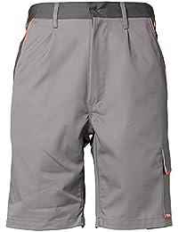 """Planam Shorts """"Visline"""", Größe XS in zink / orange / schiefer, 1 Stück, 2470040"""