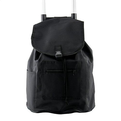 CUSFULL Bolsa De Equipaje gran capacidad a prueba de agua bolsa de compras del paño de Oxford bolsas de la compra pera Carritos de equipaje carrito de tracción (B)