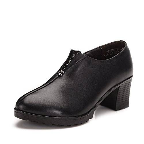 Chaussures femmes de réconfort/Maman et chaussures de fond mou/ chaussures de femmes d'âge moyen/ chaussures de travail/ chaussures femme A