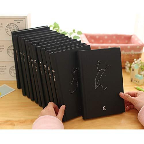 Kreative Trends Zwölf Sternbilder Hardcover Notizbuch niedlich persönliches Tagebuch Agenda Notizbücher Schule Zusammensetzung