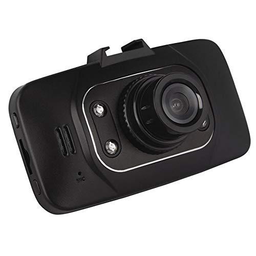 Linbing123 1080p-Dual-Dash-Kameras mit 2,7-Zoll-Bildschirm, Full-HD-Kamera, 6-spurigem 140 ° -Weitwinkelobjektiv, CMOS-Sensor, eingebautem Mikrofon und HDMI HD-Nachtsicht Qvga Tv