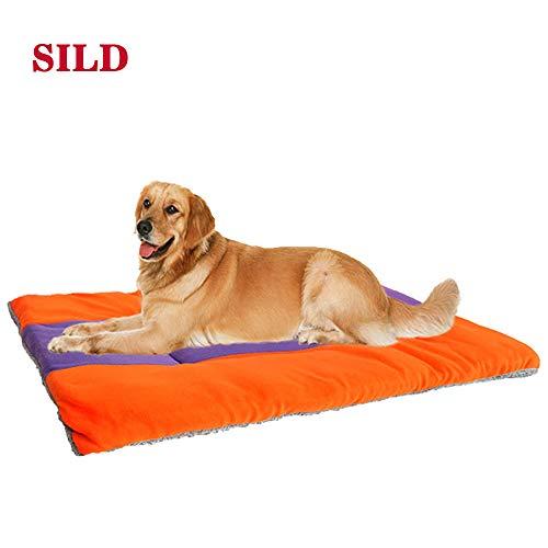 SILD Colchón para Perros Colchón para Mascotas Colchón Reversible para Perros Perros...