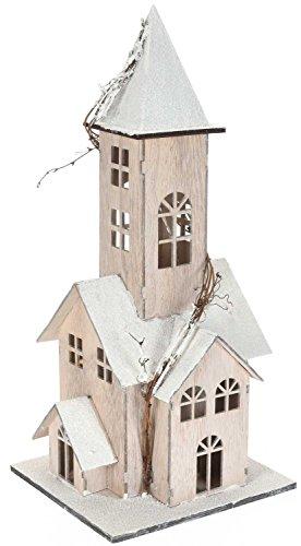 Eliware Holzhaus mit LED | 48cm