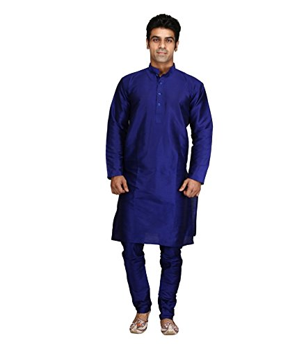 Royal Kurta Men' s Luxury Art Silk Blend Designer Occasional