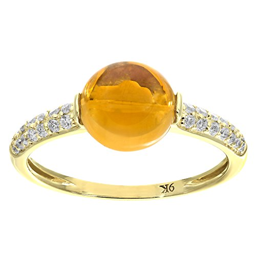 naava-9-ct-yellow-gold-diamond-and-230ct-round-citrine-ring-size-k