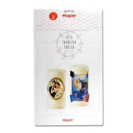 Foto Transfer Papier A4 für Kerzen