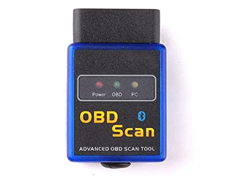 tinxi ® Vgate V1.5 OBD2 OBDII Bluetooth Adapter Mini Scanner Interface diagnostic testing equipment for BMW Seat Ford etc well suited for Torque Android App