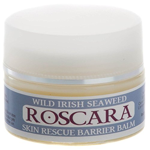 Roscara Wild Irish Seaweed Skin Rescue Barrier Balm 50ml. Nourishing, Natural and 100% Certified Organic Skin Care Balm : Inspired By An Ancient Remedy. Soothes And Moisturises Broken, Cracked, Dry Or Sore Skin.