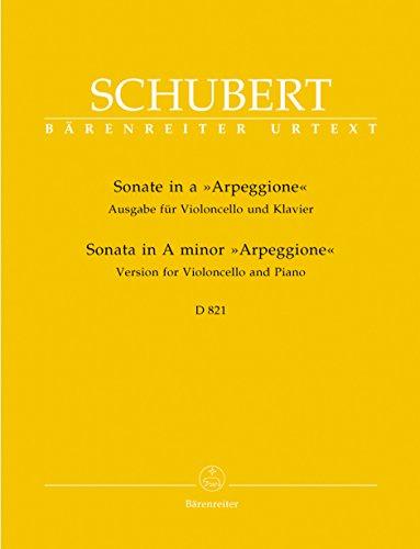 Sonate Arpeggione D821 la mineur - Violoncelle/Piano