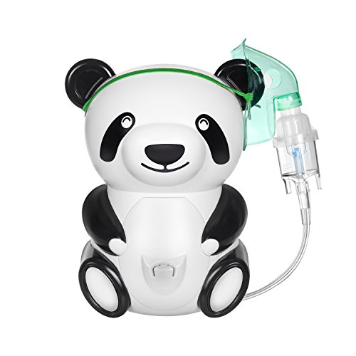 Only for Baby Big Panda Inhaliergerät Kinder Inhalator Aerosol Therapie Vernebler Inhalation Kompressor Aerosolvernebler Inhalationsgerät -