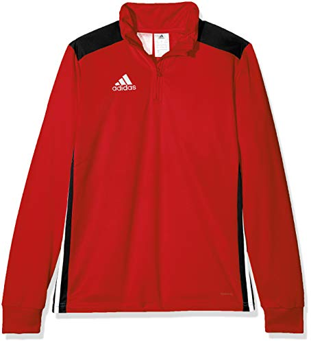 adidas Kinder REGI18 TR Y Sweatshirt REGI18 TR Y, rot(power red/Black), 11-12 Jahre (Herstellergröße: 152) (Für Fußball Kinder Sweatshirts)
