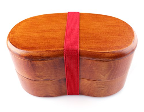 Japanese-style Bento Box - 2-Tiered Lunchbox...
