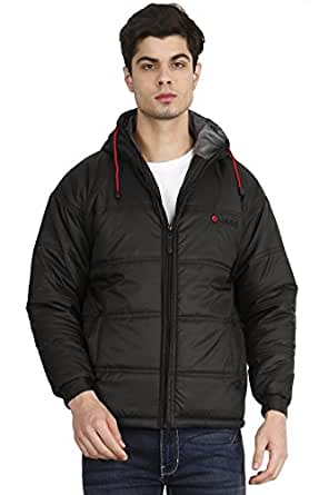 OJASS Full Sleeve Solid Men's Jacket Black