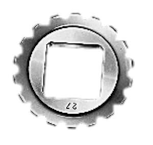 BILZ Vierkant-Einsatz, Universal-Ratsche Größe 00 4,9 mm