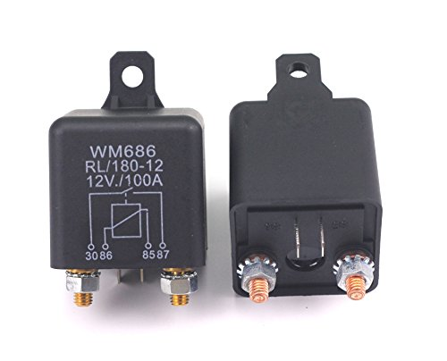 RL/180-12 Batterie Trennrelais Relais 12V/100A Spitzenlast Für Pkw Lkw Kfz Auto Camping Wohn -