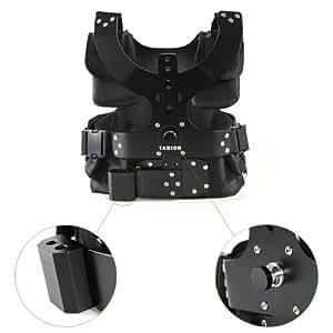 Tarion® Profi Schwebestativ Set (Weste und Federarm Schwebestativ Vest) für Camcorder/DSLR-Rig