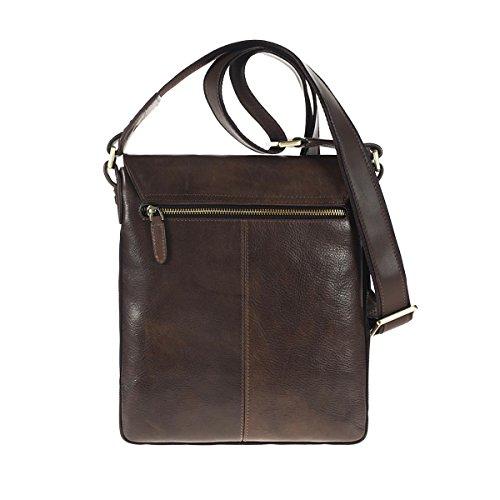 #MYITALIANBAG , Sac pour homme à porter à l'épaule, marron clair (marron) - 83018TAN noir
