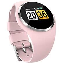 fdbb9474b9a7 VEHOME Reloj Deportivo -Medición del Ritmo cardíaco de la Mujer - sueño  multifunción - Contador