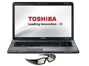 Toshiba Satellite P775-110 43,9 cm (17,3 Zoll) 3D Notebook (Intel Core i7 2670QM, 2,2GHz, 8GB RAM, 1,5TB HDD, NVIDIA GT 540M, Blu-ray, Win 7 HP)