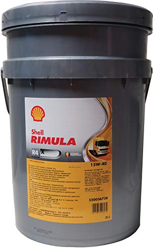 Olio Shell Rimula R4x 15w40 20l Lubrificante auto