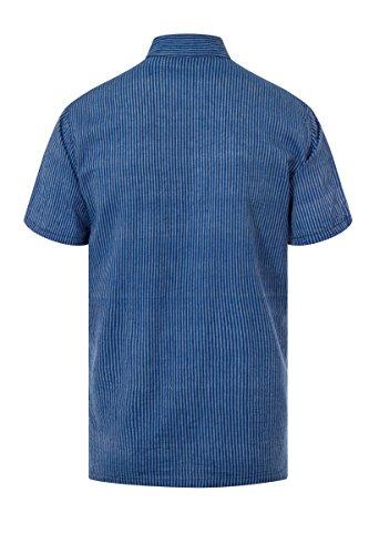 ThaiUK Herren Freizeit-Hemd mehrfarbig mehrfarbig One size Blau