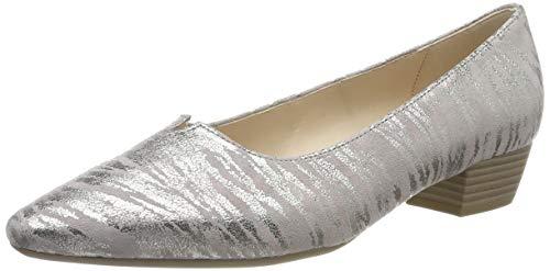 Gabor Shoes Basic, Scarpe con Tacco Donna, Multicolore (Flieder 63), 44 EU
