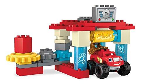 Mega Bloks - Blaze y túnel de Lavado de Axle City