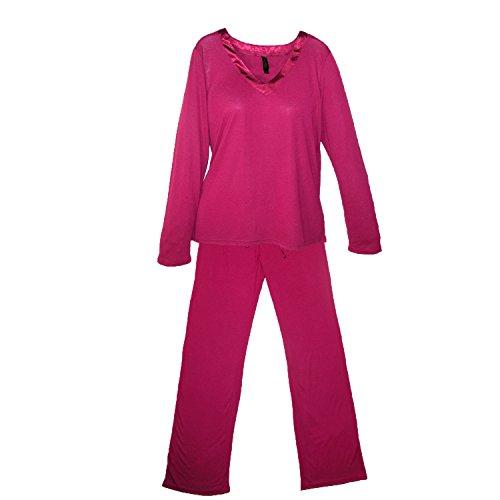 Pajama Drama - Ensemble de pyjama - Uni - Femme taille unique saphire