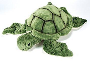 GREEN SEA TURTLE Plush Soft Toy - 32cm