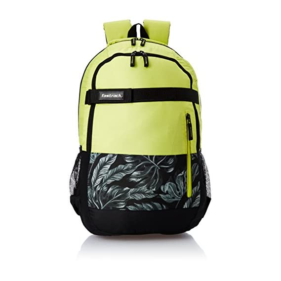 Fastrack 27.24 Ltrs Neon Green Casual Backpack (A0651NNE01)
