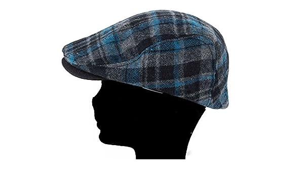 GIANMARCO VENTURI Cappello uomo coppola scozzese con visiera taglia unica  L1516  Amazon.it  Scarpe e borse 343947911f9f