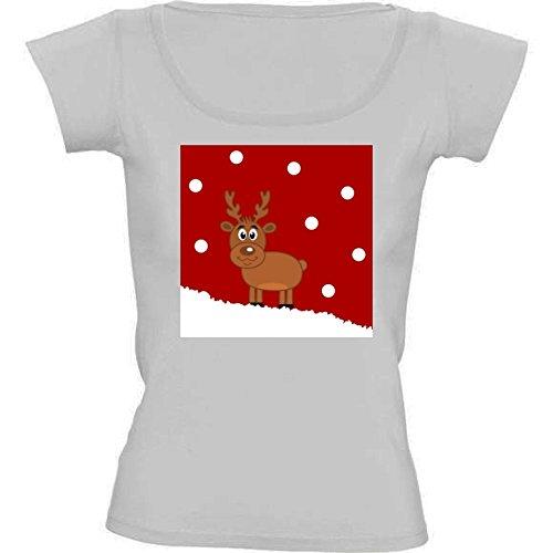 camiseta-blanca-con-cuello-redondo-para-mujeres-tamao-m-un-ciervo-de-navidad-en-la-nieve-by-zorg