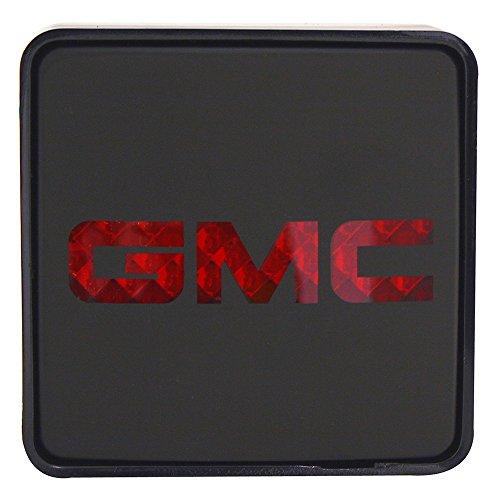 Bully CR-007F 2 Black Hitch Cover with Ford Logo LED Brake Light by DNAMotoring (Hitch Cover Light)