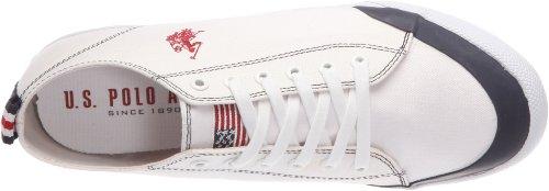 US Polo Assn Bram, Baskets mode homme Blanc (Whi)