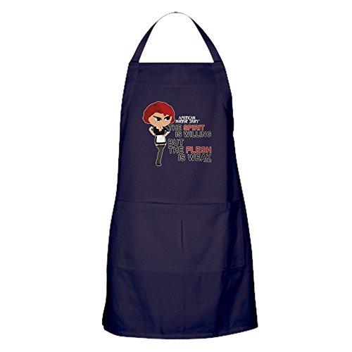 CafePress - American Horror Story Chibi Moira O'h - Küchenschürze mit Taschen, Grillschürze, Backschürze (Story Horror Moira)