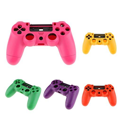 SM sunnimix 5Stück Gehäuse Gaming Controller Shell Case Schutzhülle Haut Ersatzteile für Sony Playstation 4PS4Controller Halten Tasten zugänglich Controller Shell