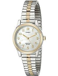Timex Damen-Armbanduhr Dressy Expansion T2M828