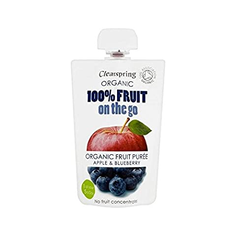 Clearspring Organic Fruit Puree Apple & Blueberry
