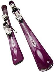 Blizzard VIVA X2 IQ Damen Ski Set Allrounder Damenski mit Marker Skibindung