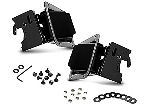 Bestop 51251-01 Jeep Paddle-style Door Handle Latches Kit rotary type Black by Bestop