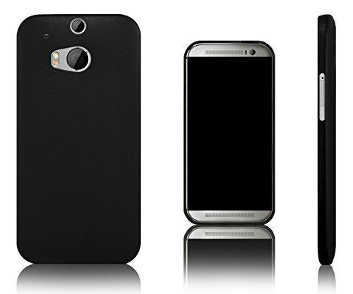 Xcessor Dark Magic Ultra Thin Hartplastik Schutzhülle Für HTC One M8 schwarz