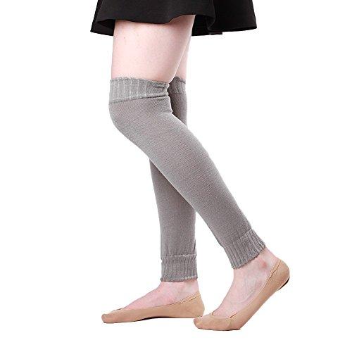 Wolle-mischung-stulpen (Rockabilly∣ Beinwärmer Bein-Stulpen∣ Socken Legwarmers Ballettstulpen ∣Overknees Kniestrümpfe ∣ 40 Modelle extrem weich ∣ 80 % Acryl 20 % Spandex Einheitsgröße (59025-001-000))