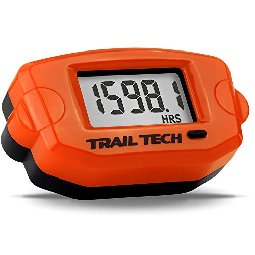 Trail Tech TTO Digital Tach(RPM) /Hour Meter Gauge Surface Mount for Scooters&Bikes