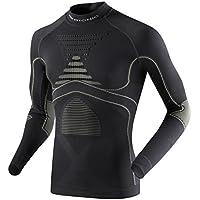 X-Bionic Accumulator ® EVO Energy Camiseta larga Sleeves Turtle Neck men (Charcoal Grey)/Pearl, color - Charcoal/Pearl Grey, tamaño S/M