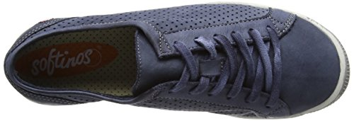 Softinos Damen Ica388sof Sneakers blau (marineblau)