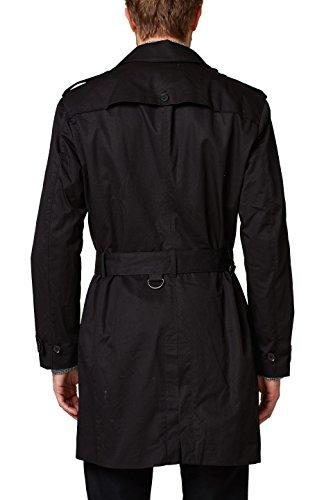 ESPRIT Collection Herren Mantel 028EO2G003, Schwarz (Black 001), XX-Large (Herstellergröße: 54) - 2