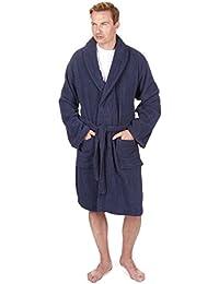 Pierre Roche Men's Towel Robe Dressing Gown - Sizes M-XXL