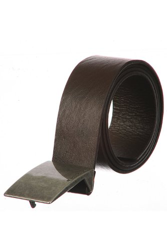 Hugo Boss Pelle Cintura Jarrett-n Uomo Arancione 50180959-203 100 Marrone