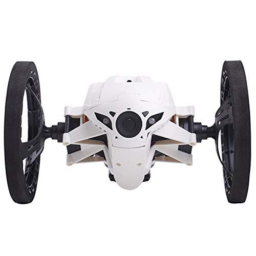 Rad RC 2,4 Ghz All Terrain Robustness Stunt RC Auto Fernbedienung Balance Springen Spielzeug Geschenk Für Kinder und Erwachsene Rennwagen,White ()